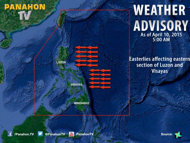 Philippine Weather Forecast: Generally fair weather continues