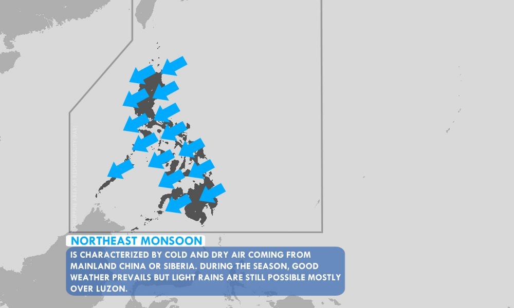 The Northeast Monsoon still affects the whole country  – Panahon TV